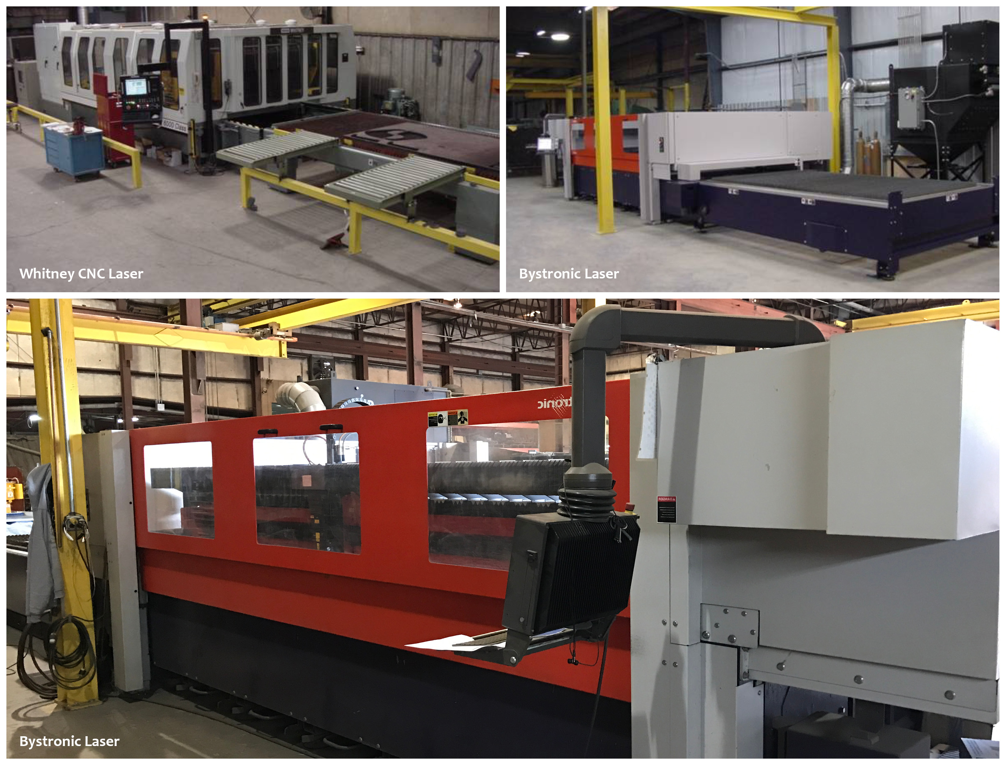 Bystronic Lasers, Whitney CNC Laser